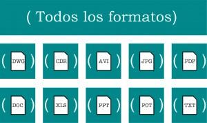 Servicio de traducciones para empresas - formatos