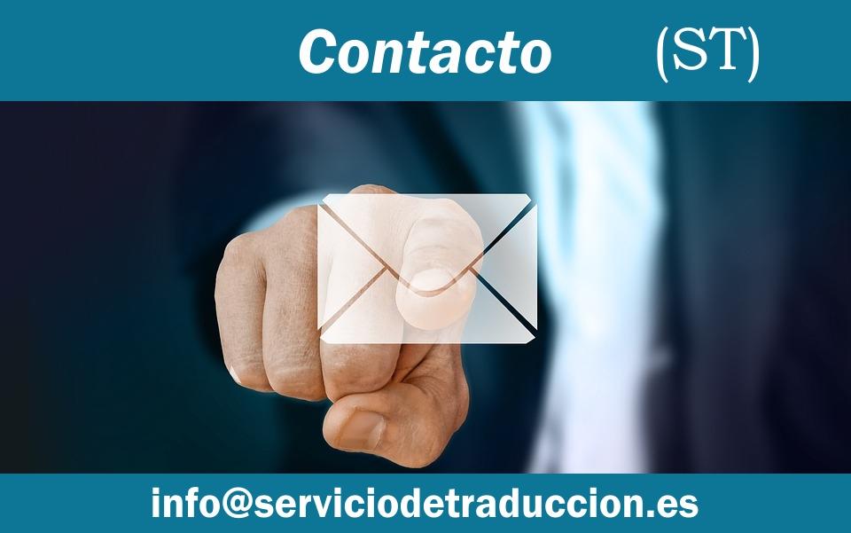 Contacto ST traducciones