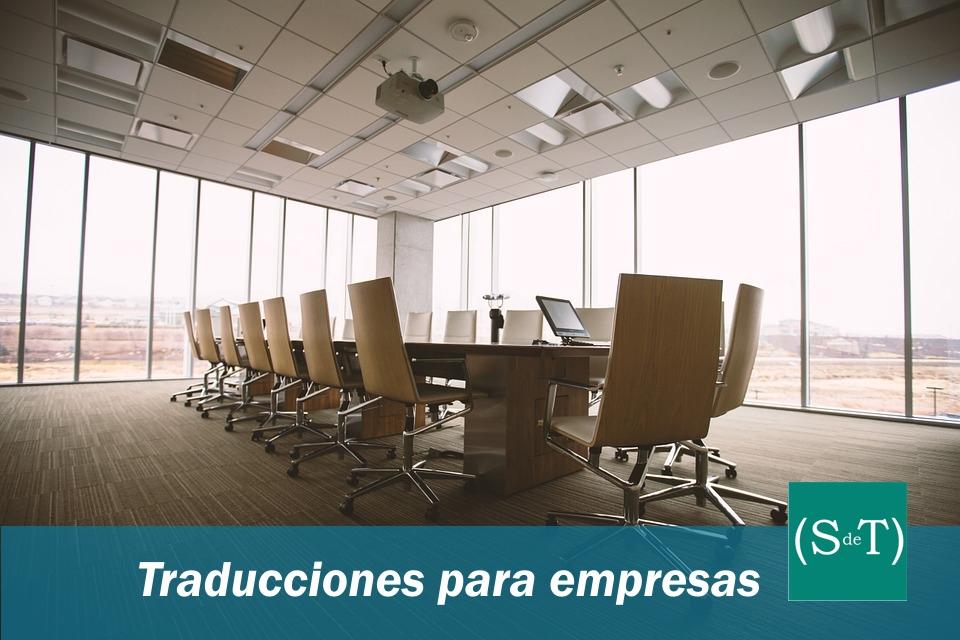 Traducciones para empresas