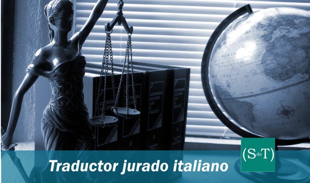 Traductor jurado italiano español