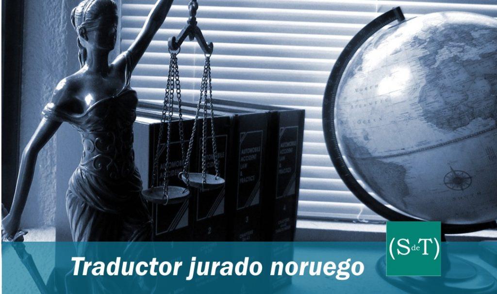 Traductor jurado noruego español