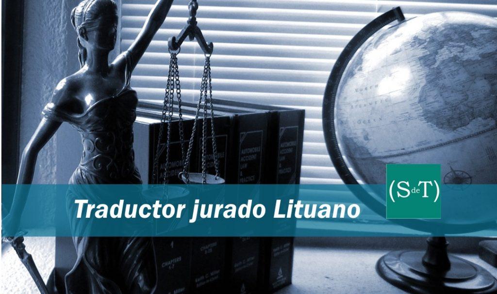 Traductor jurado lituano Madrid Valencia