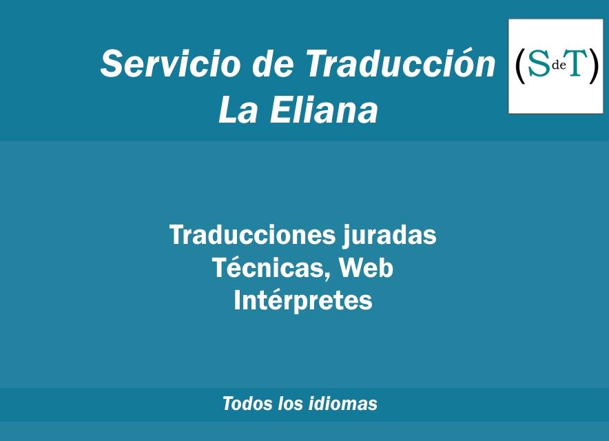 Traducciones La Eliana