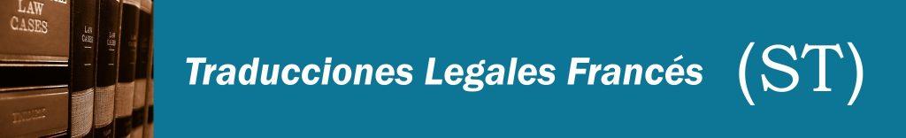 Traducciones Legales Francés
