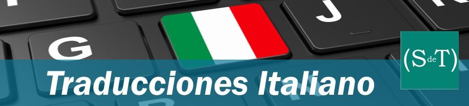 Traductor italiano español ST servicio de traducción