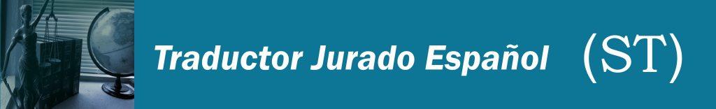 Traductor Jurado Español