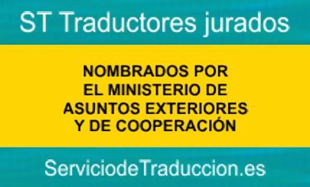 Traductores jurados - Servicio de traduccion -Maec