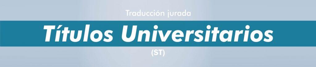 Traducciones títulos universitarios italiano español