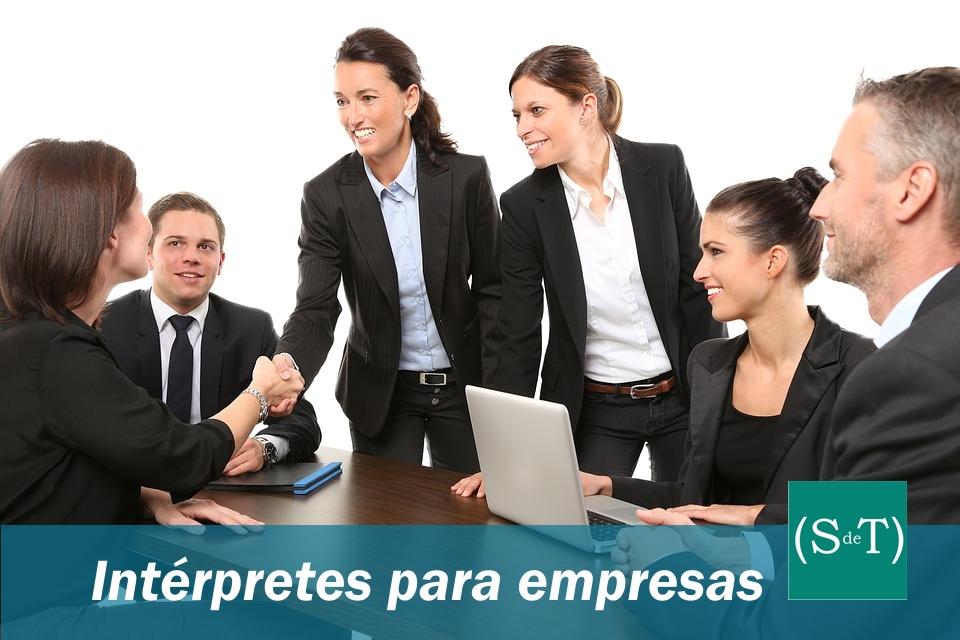 Interpretación para empresas