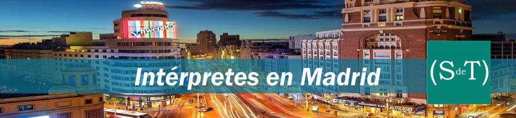 Intérpretes en Madrid