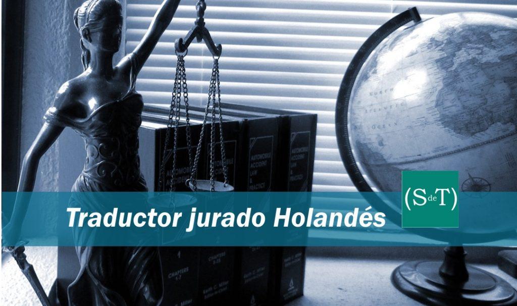 Traductor jurado holandés Madrid Valencia