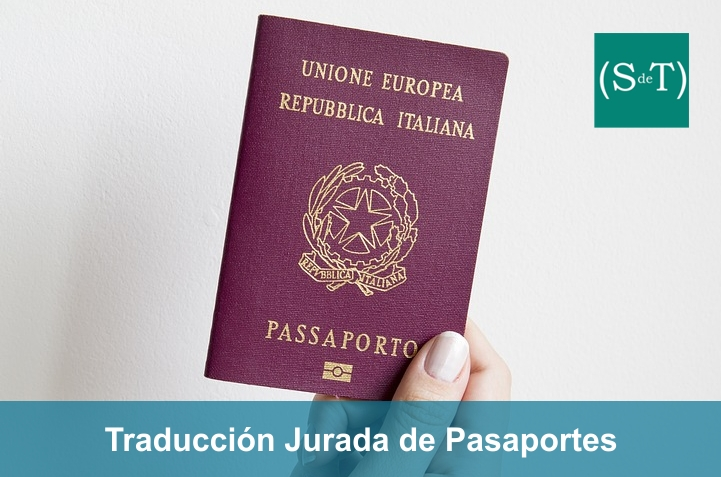Traducción jurada pasaporte italiano