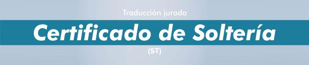 Certificado Soltería Traducciones Ruso Español