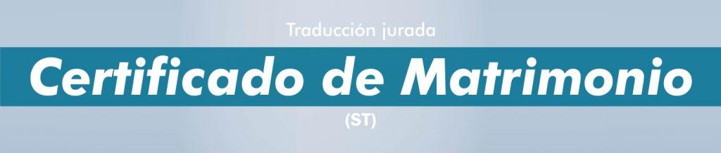 Traductor jurado certificado matrimonio portugués
