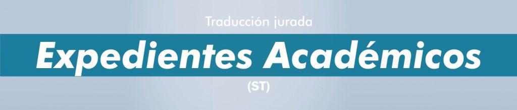 Traducciones juradas expedientes académicos portugués