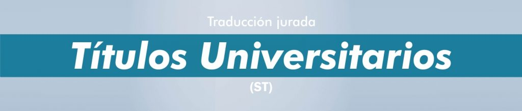 Traductor jurado portugués títulos universitarios